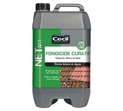 TRAITEMENT CURATIF TOITURES, MURS, TERRASSES, DALLAGES 20L NET AM+ CECIL